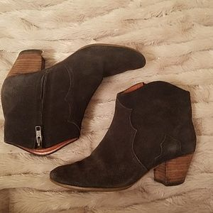 Isabel Marant Suede Dicker Boots